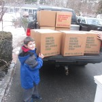 March 5th Donations Arrive