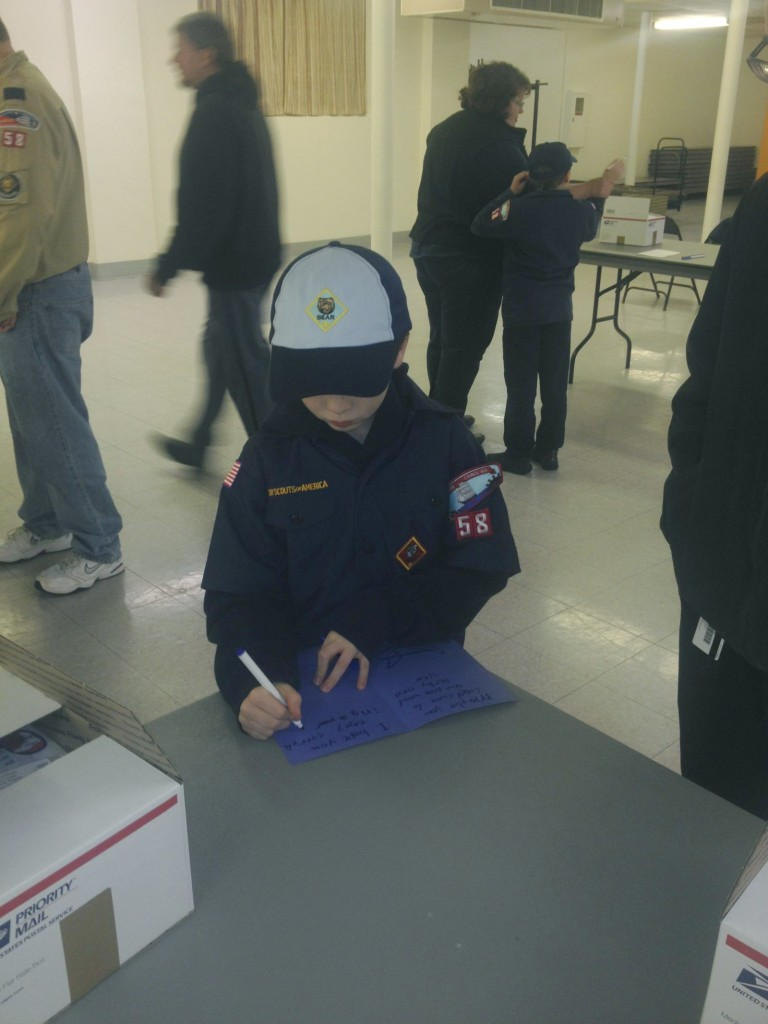 March 13, 2014 Boy Scouts Packing 06