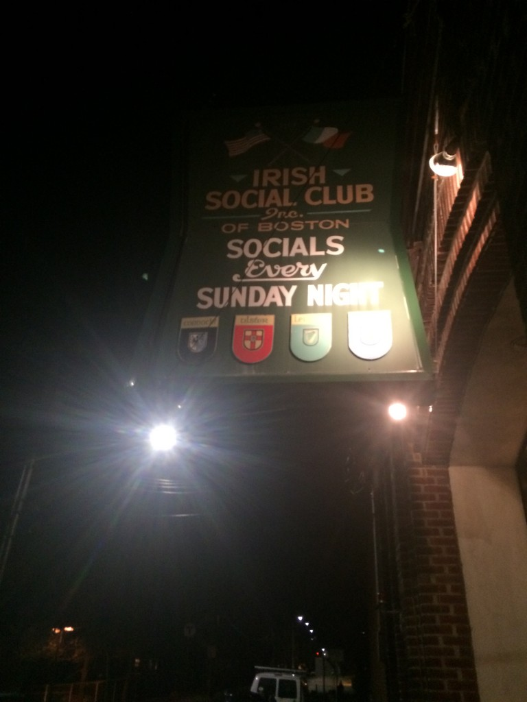 Dec. 20th Irish Social Club of Boston Fund Raiser