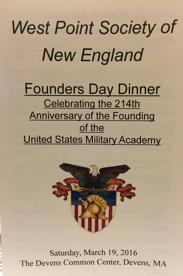 March 19 West Point Society Dinner