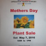 May 7 OTS Plant Sale